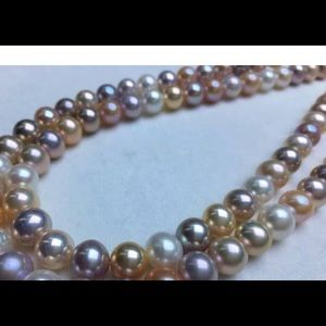 Jewelry - Petite choker necklace natural freshwater pearls